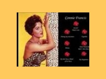 Prezentace Connie Francis