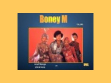 Prezentace Jukebox - Boney M