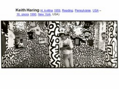 Náhled prezentace pps Keith Haring