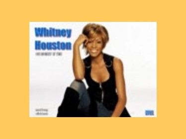 Prezentace Jukebox-Whitney Houston
