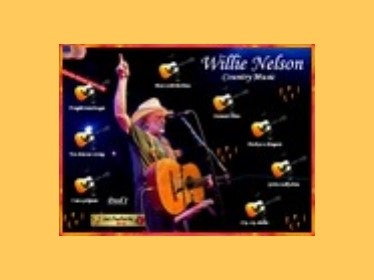 Prezentace Willie Nelson - country