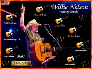 Náhled prezentace pps Willie Nelson - country