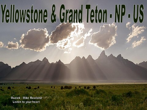 Prezentace Yellowstone a Grand Teton-USA